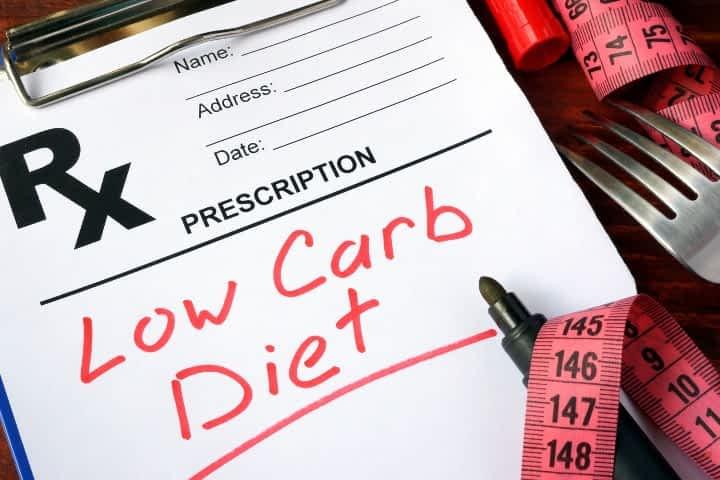 prescription for low carb diet